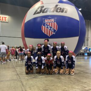 15 Elite AAU group photo