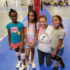 Cheryl with apvb campers